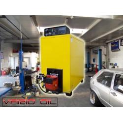 Kocioł C.O. L100 z palnikiem na olej Vario Oil 150