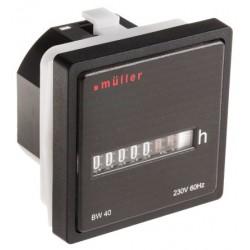 Licznik godzin pracy MULLER BW 40.X8 230V 50Hz do nagrzewnic Nolting
